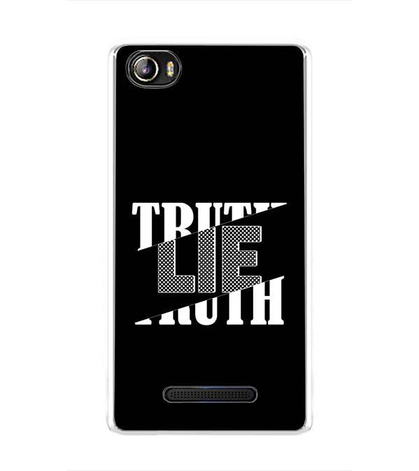 Truth and Lie Back Cover for Sansui Horizon 1