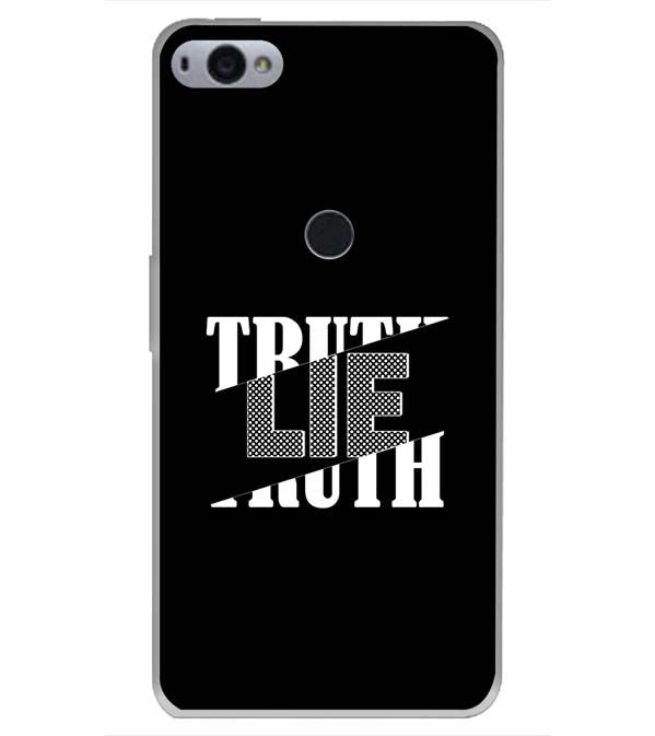 Truth and Lie Back Cover for Smartron SRT Phone