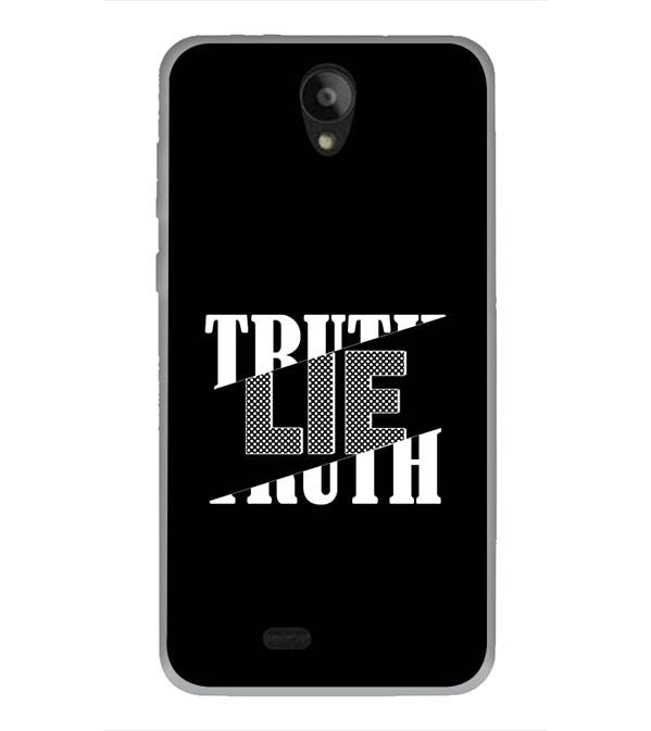 Truth and Lie Back Cover for Swipe Konnect Plus