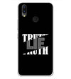 Truth and Lie Soft Silicone Back Cover for Vivo X21