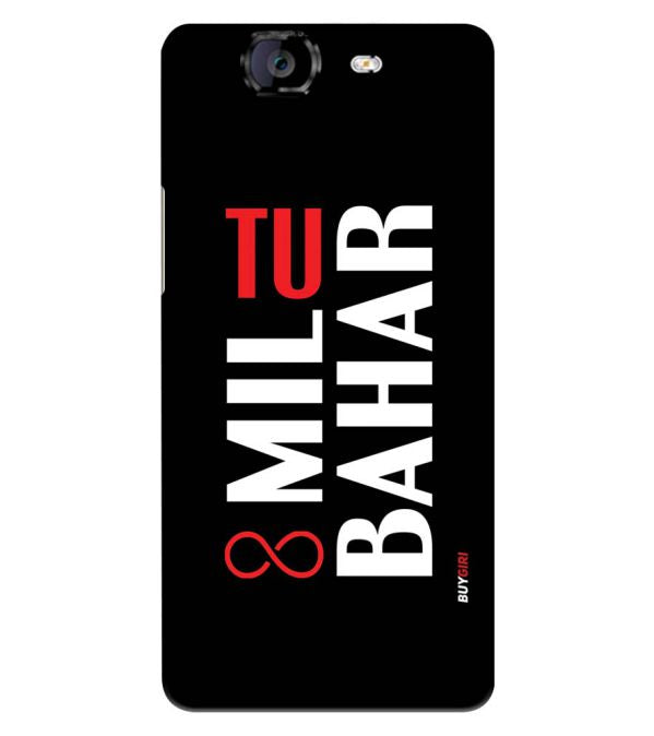 Tu Mil Bahar Back Cover for Micromax A350 Canvas Knight