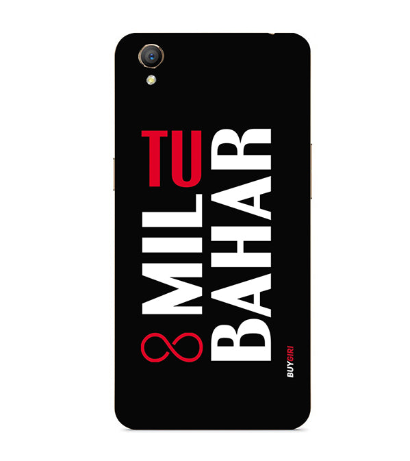 online store c9a88 cc9d2 Tu Mil Bahar Back Cover for Oppo A37