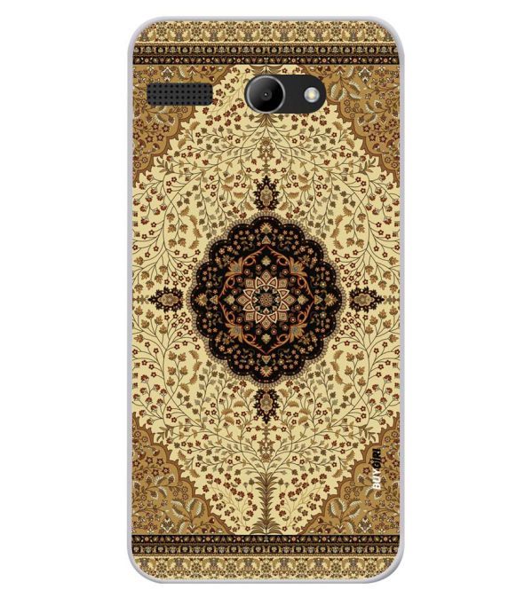 Turkish Carpet Soft Silicone Back Cover for Lava Iris Atom X