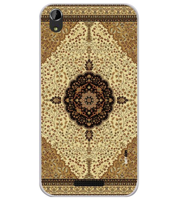 Turkish Carpet Soft Silicone Back Cover for Lava Iris Atom X1