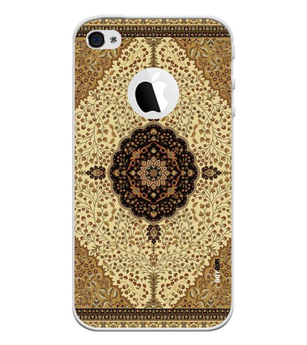 Turkish Carpet Back Cover for Apple iPhone 4 and iPhone 4S (Logo Cut)-Image3