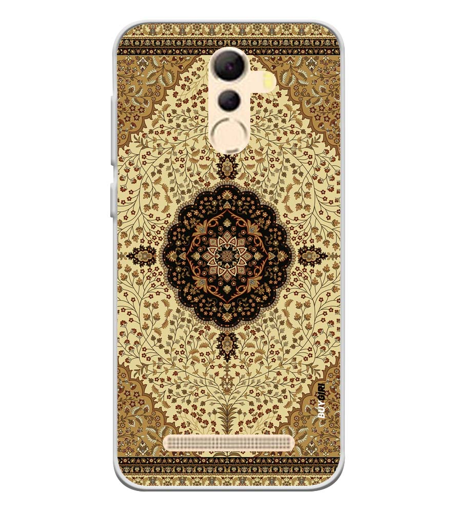 Turkish Carpet Soft Silicone Back Cover for Coolpad Mega 5A