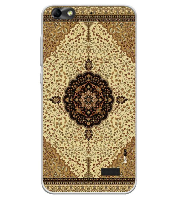 Turkish Carpet Soft Silicone Back Cover for Huawei Honor Bee 4G