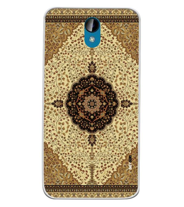 Turkish Carpet Soft Silicone Back Cover for Intex Lions 6
