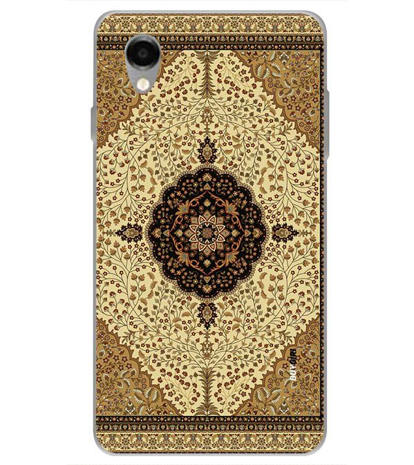 Turkish Carpet Back Cover for ITEL PWO Pro