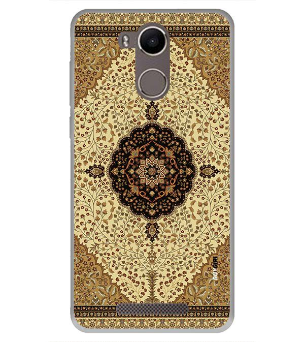 Turkish Carpet Back Cover for Karbonn K9 Kavach 4G