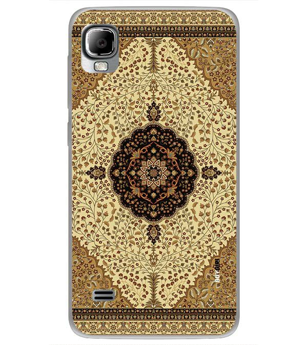 Turkish Carpet Back Cover for LYF Flame 3