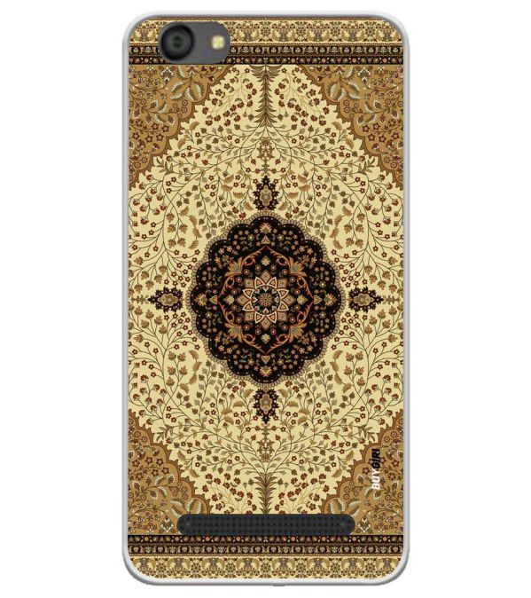 Turkish Carpet Soft Silicone Back Cover for LYF Flame 5