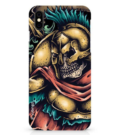 Undead Spartan Back Cover for Apple iPhone X