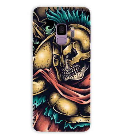 Undead Spartan Back Cover for Samsung Galaxy S9