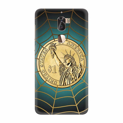 US Dollar Back Cover for Coolpad Cool 1