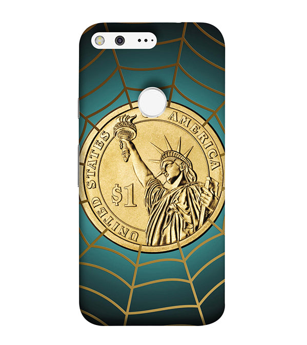 US Dollar Back Cover for Google Pixel