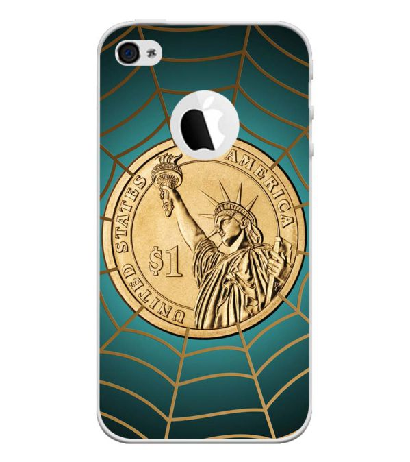 US Dollar Back Cover for Apple iPhone 4 and iPhone 4S (Logo Cut)-Image3