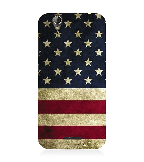 US Flag Theme Back Cover for Acer Liquid Zade 630