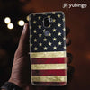 US Flag Theme Back Cover for Coolpad Cool 1-Image2