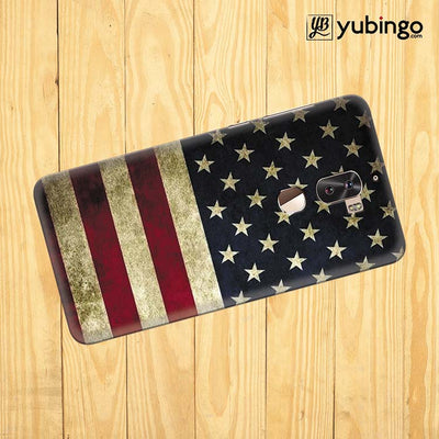 US Flag Theme Back Cover for Coolpad Cool 1-Image3