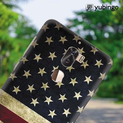 US Flag Theme Back Cover for Coolpad Cool 1-Image4