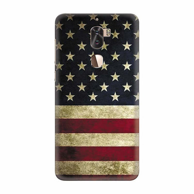 US Flag Theme Back Cover for Coolpad Cool 1