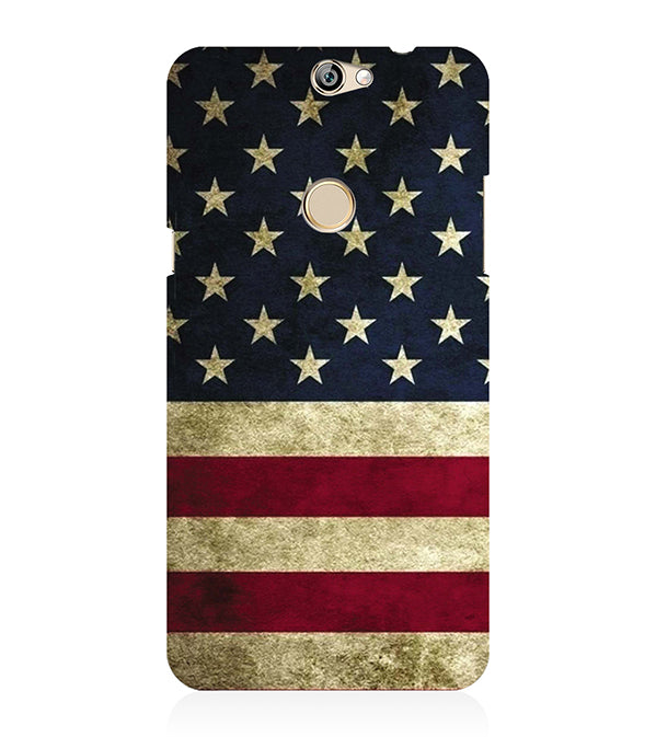 US Flag Theme Back Cover for Coolpad Max