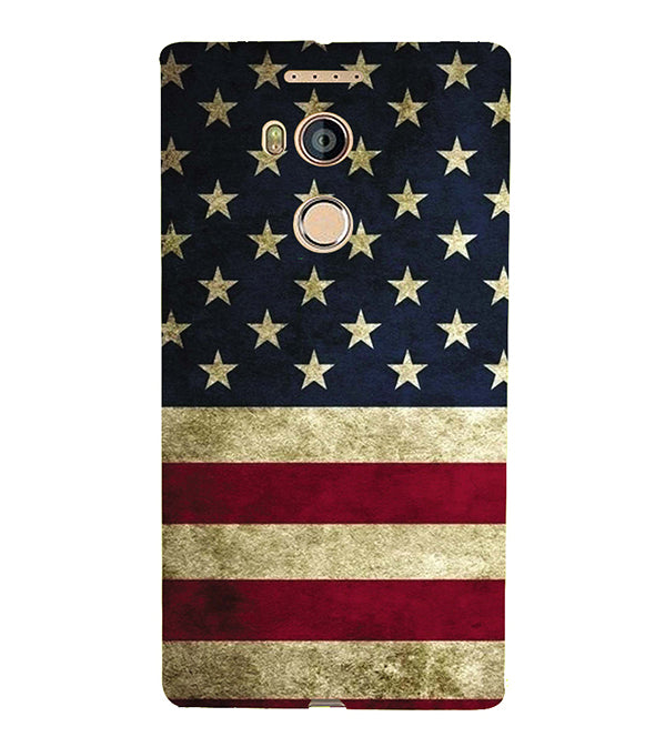 US Flag Theme Back Cover for Gionee Elife E8