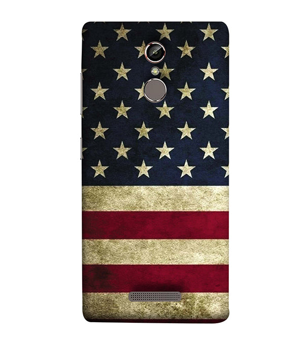 US Flag Theme Back Cover for Gionee Elife S6S
