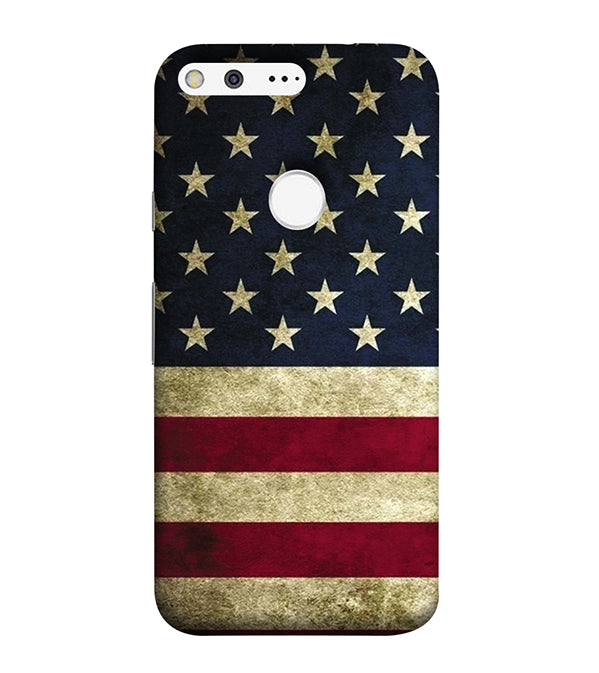 US Flag Theme Back Cover for Google Pixel