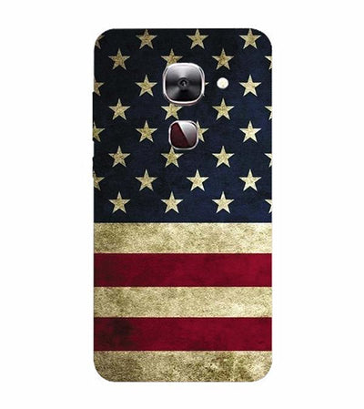 US Flag Theme Back Cover for LeEco Le 2s