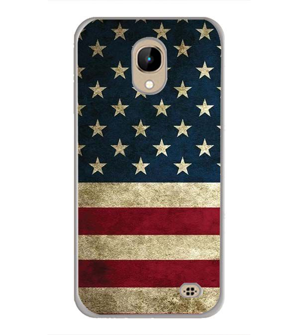 US Flag Theme Back Cover for InFocus A2
