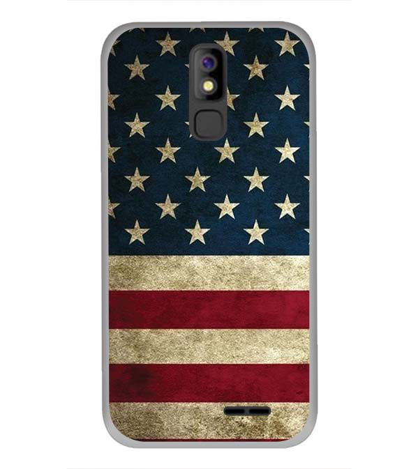 US Flag Theme Back Cover for Panasonic P100