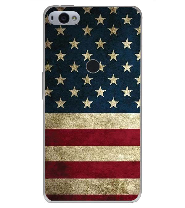 US Flag Theme Back Cover for Smartron SRT Phone