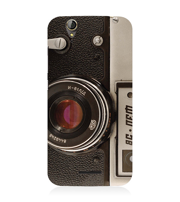 Vintage Camera Back Cover for Acer Liquid Zade 630