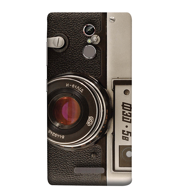 Vintage Camera Back Cover for Gionee Elife S6S