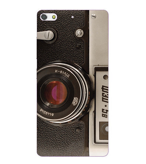 Vintage Camera Back Cover for Gionee Elife S7
