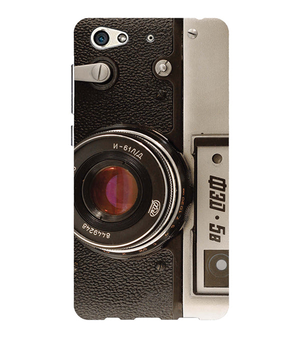 Vintage Camera Back Cover for Gionee S10