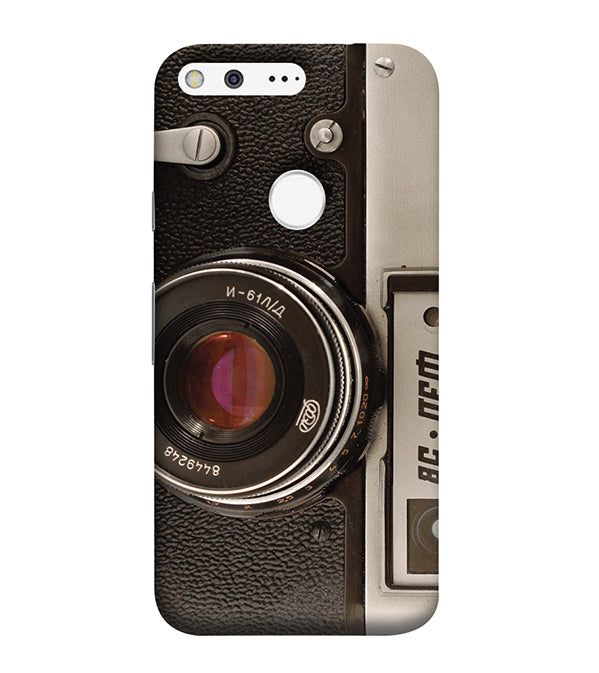 Vintage Camera Back Cover for Google Pixel