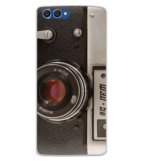 Vintage Camera Back Cover for Homtom H3-Image3