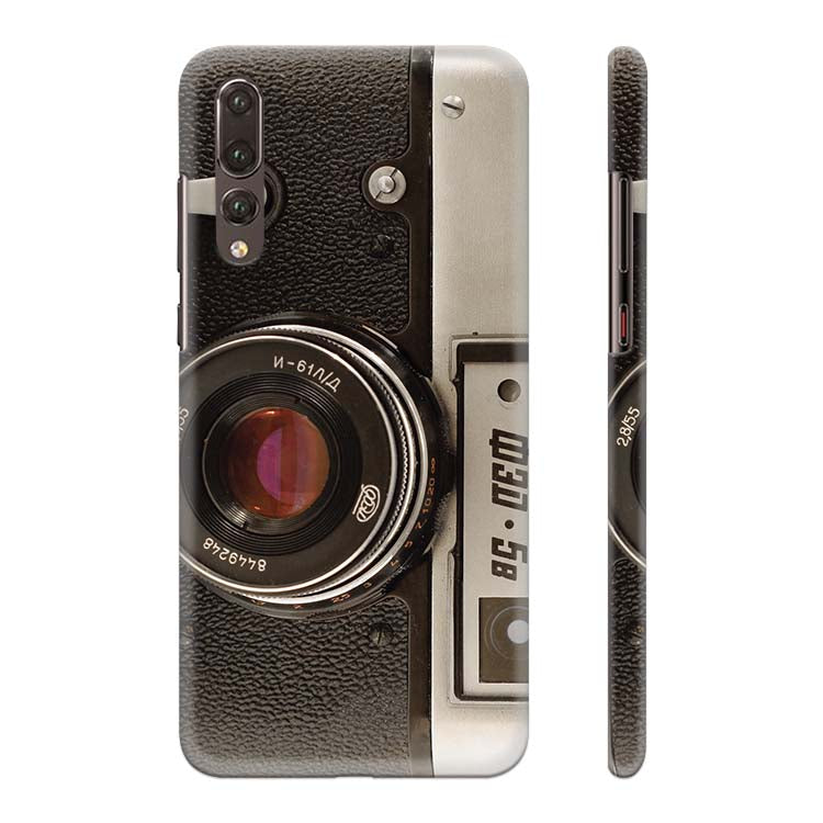 on sale 0c34e 08515 Vintage Camera Back Cover for Huawei P20 Pro