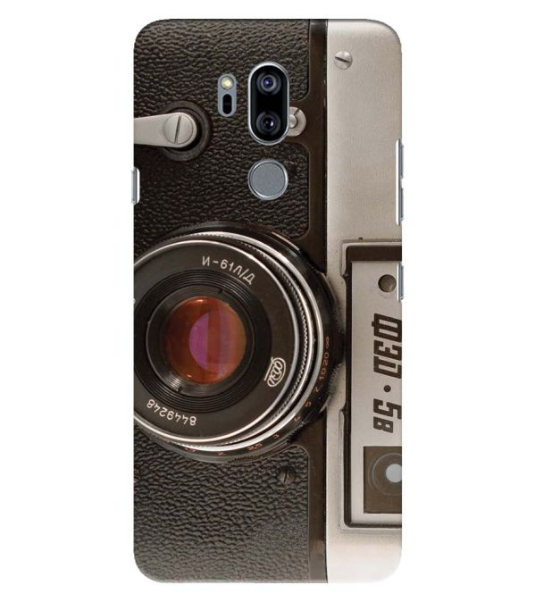 Vintage Camera Back Cover for LG G7