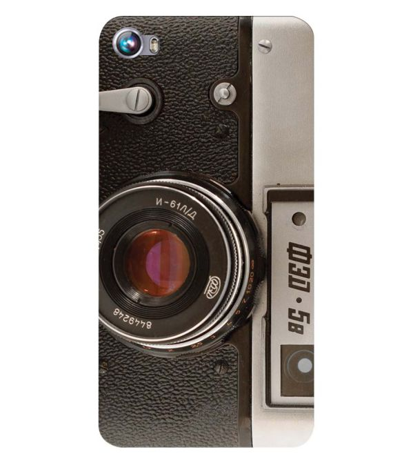 Vintage Camera Back Cover for Micromax Canvas Fire 4 A107
