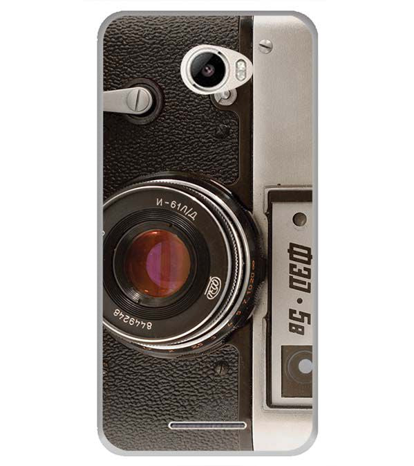 Vintage Camera Back Cover for Intex Intx Trend Lite