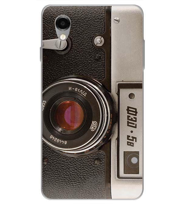 Vintage Camera Back Cover for ITEL PWO Pro