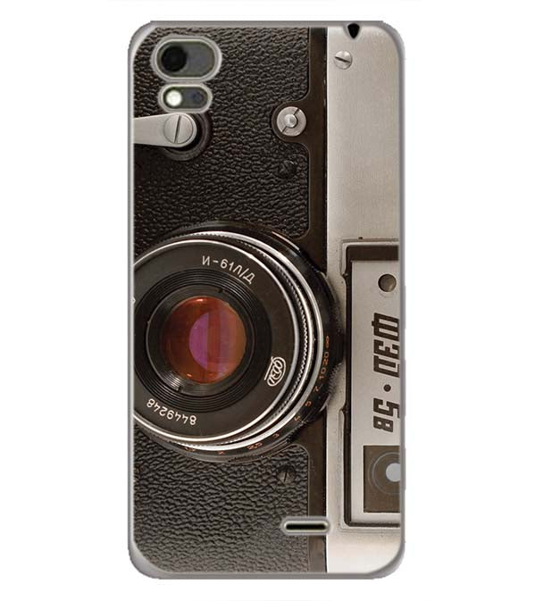 Vintage Camera Back Cover for Karbonn Aura Note 4G