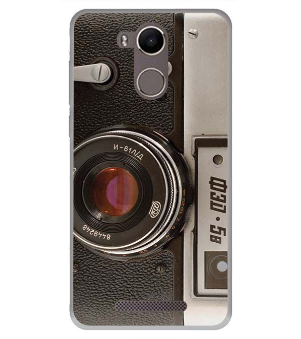 Vintage Camera Back Cover for Karbonn K9 Kavach 4G