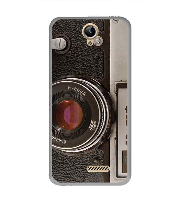 Vintage Camera Back Cover for Lephone W10