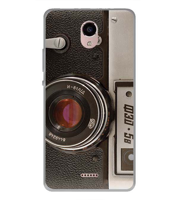 Vintage Camera Back Cover for Panasonic Eluga RayX