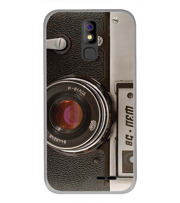 Vintage Camera Back Cover for Panasonic P100